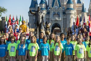 Walt Disney World Resort Celebrates 50thÊAnniversary of ÒitÕs a small worldÓ during Global Sing-Along at Disney Parks
