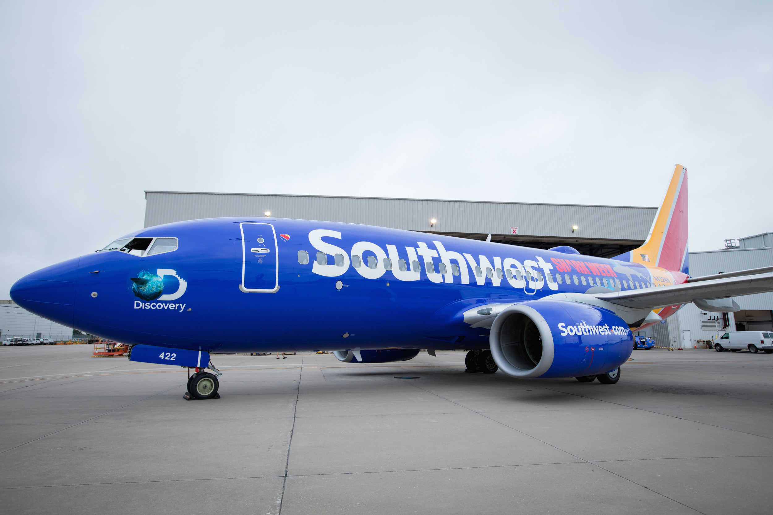 Southwest Airlines Invites You To Celebrate Shark Week