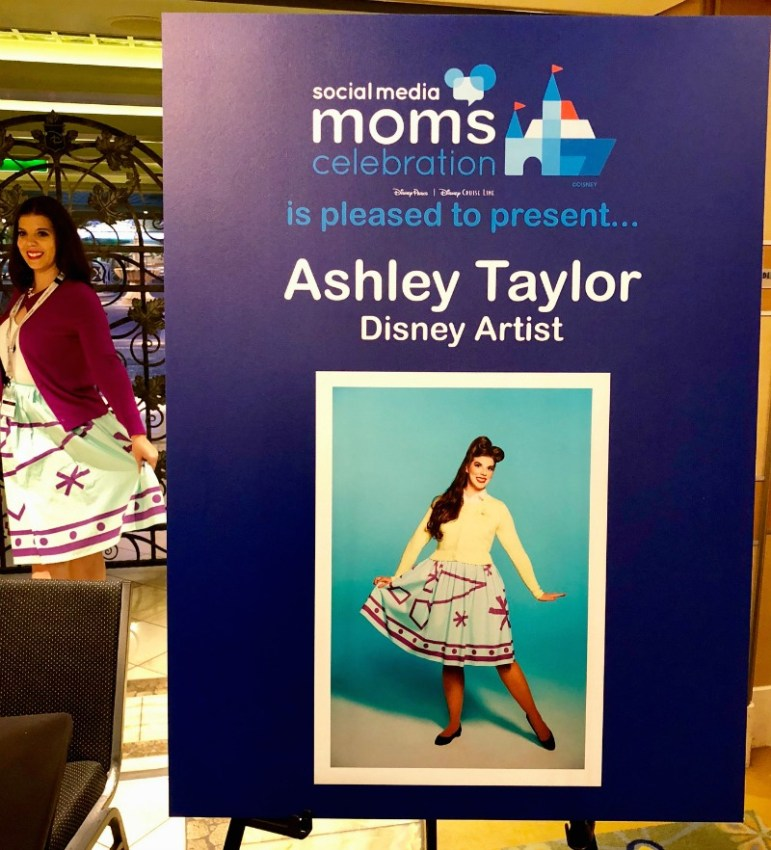 Ashley Taylor - Disney Artist - Love Ashley Designs - Magic and Motivation - Disney Social Media Moms Conference