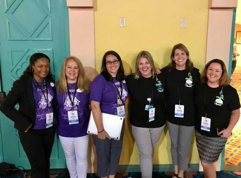Walt Disney World Parks & Resorts Events Team - Photo credit Marita Sarad - Magic and Motivation Disney Social Media Moms Conference