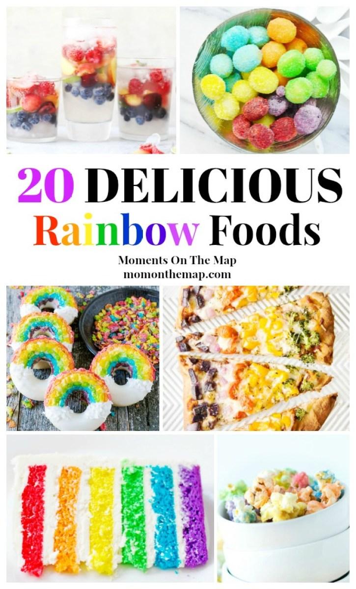 20 Delicious Rainbow Foods