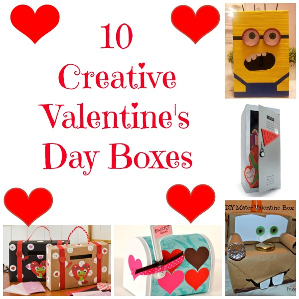 Valentine's Day Box Ideas for Kids to Make | Mom on the Side