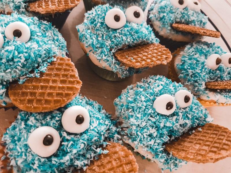RECEPT | Koekiemonster cupcakes