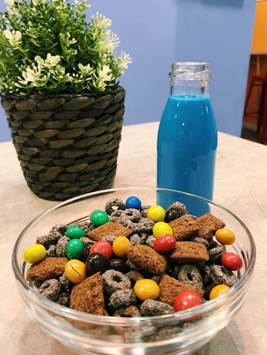 Oreo y M&Ms Cereal Talent