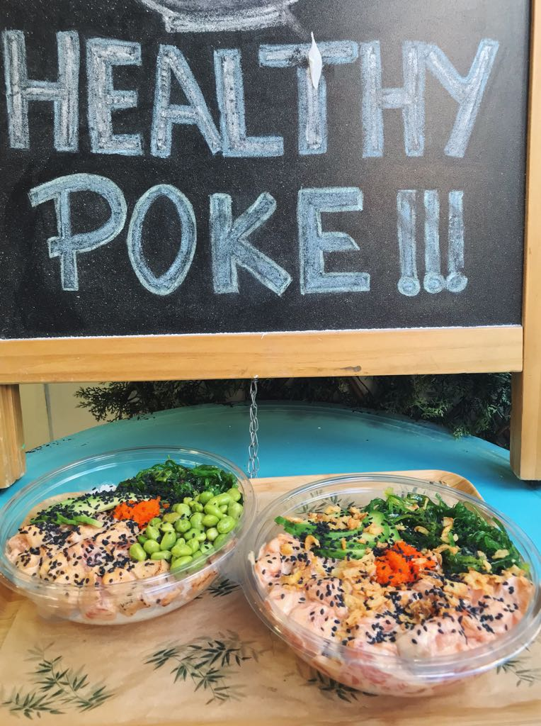 healthy poke madrid