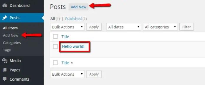Rackpost-add new post