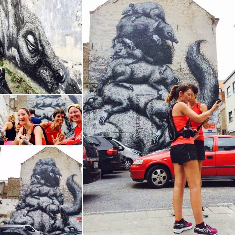 Mom Runs the City - Oostende - The Crystal Ship Run - Roa