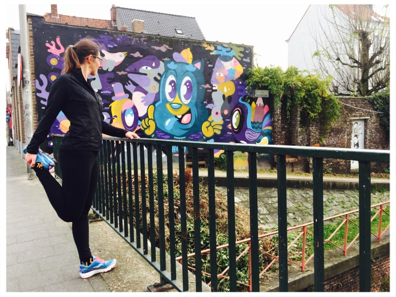 #momSrunthecity loopje met Lies in Gent : #sorrynotsorrygent route