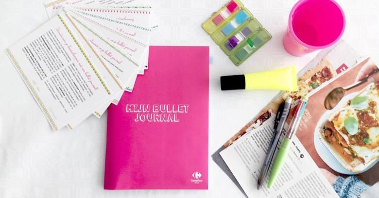 Bullet Journal Carrefour Drive