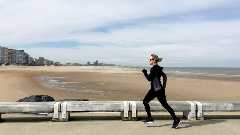 Moms Run The City in Oostende met Jean Coens