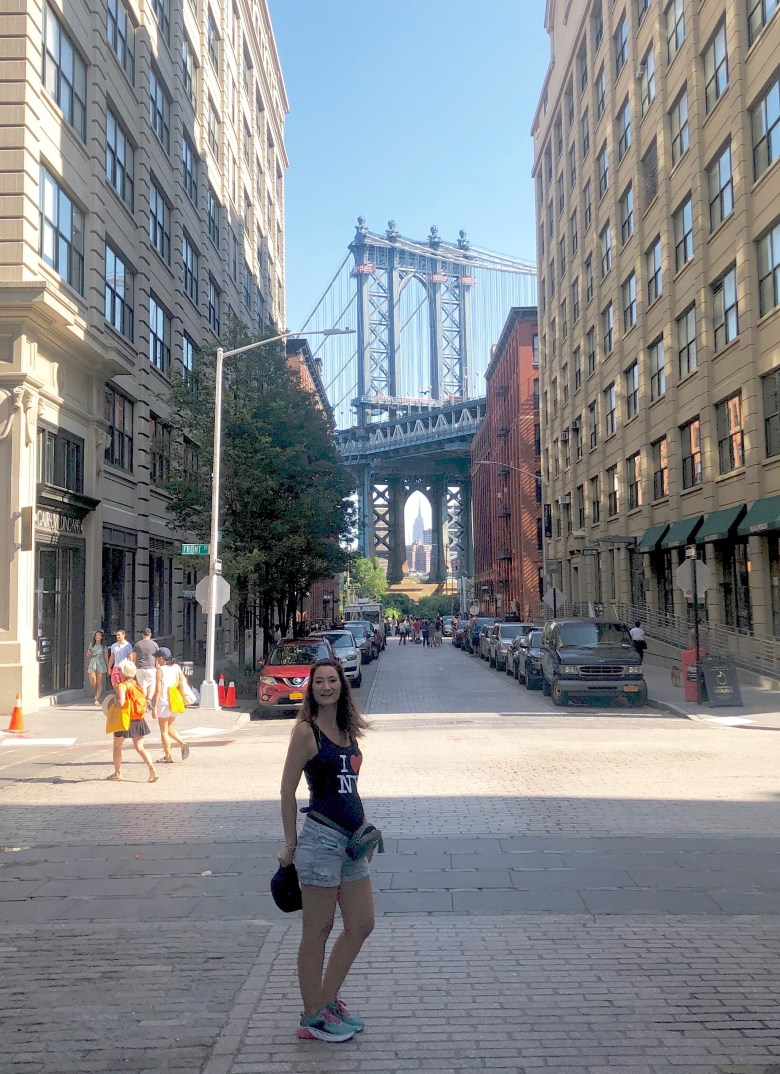 New York, Dumbo, Manhattan Bridge