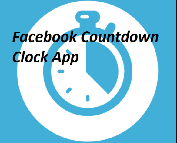 Facebook Countdown Clock App