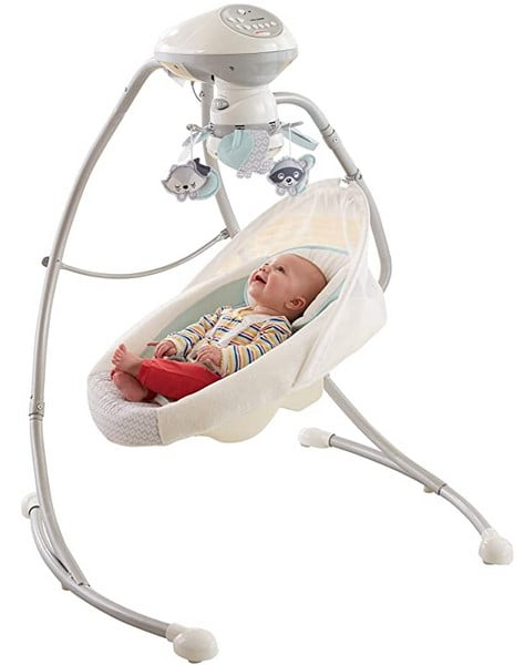 Fisher-Price Moonlight Meadow Deluxe Cradle and Swing