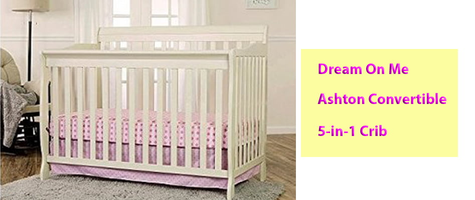 Dream On Me Ashton Convertible 5-in-1 Crib