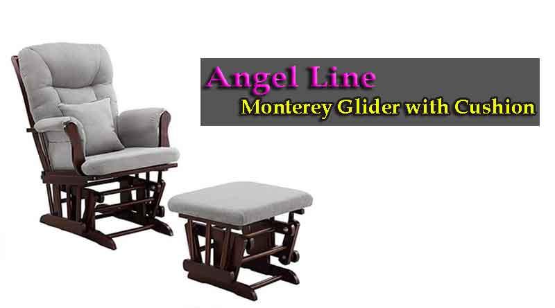 Angel Line Monterey Glider and Ottoman