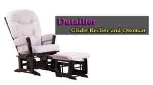 Dutailier Glider Recline and Ottoman