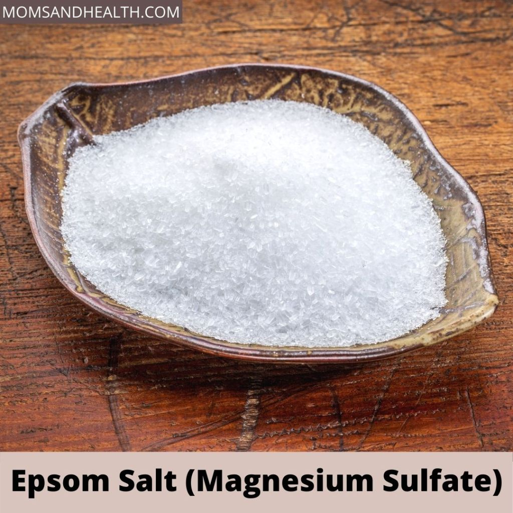Epsom Salt to get rid of calluses