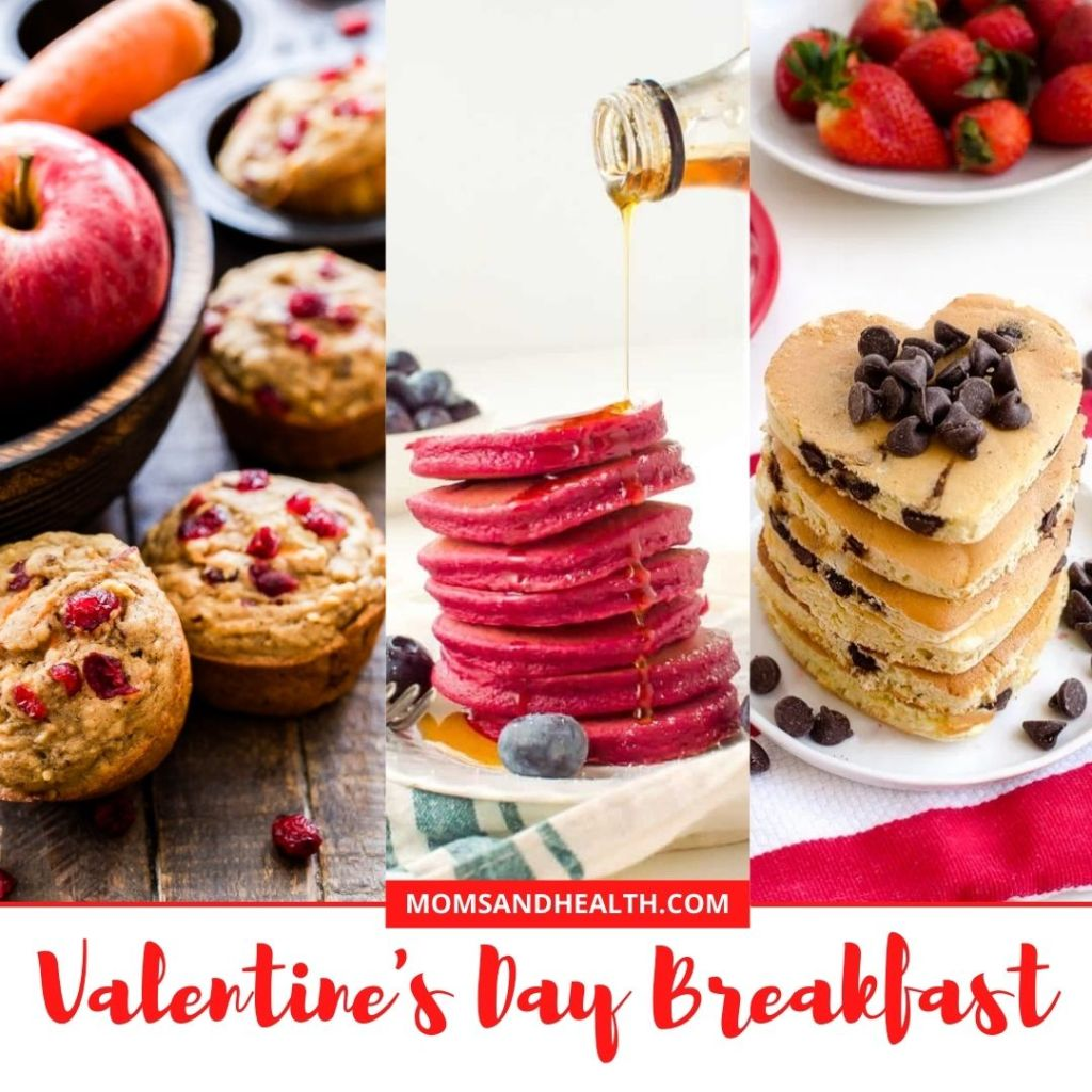 Valentine's Day Breakfast Recipes for Kind and Family