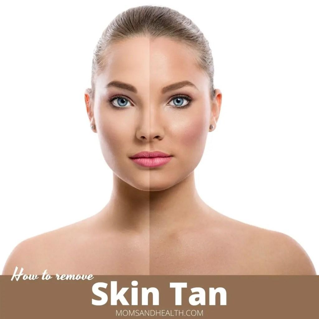 Remove Skin Tan
