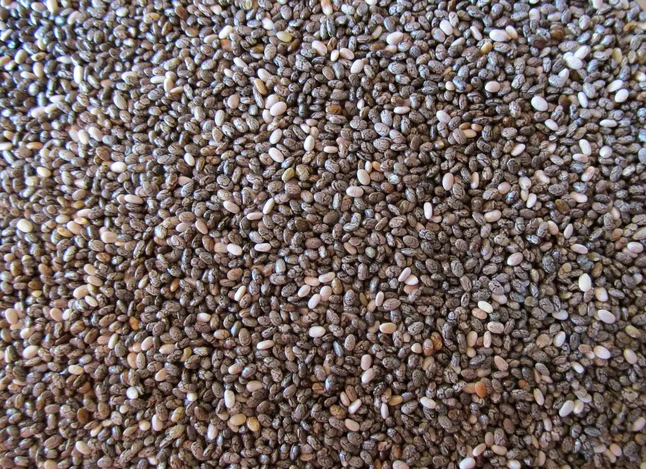 seeds, black, chia