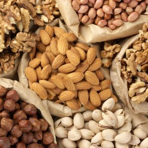 Nuts to increase Breast Size