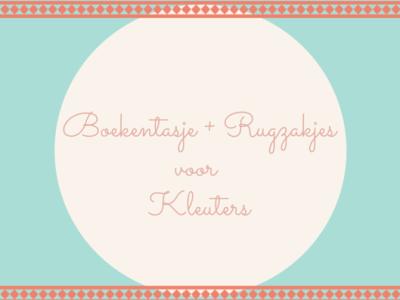 Boekentasjes en rugzakjes voor kleuters
