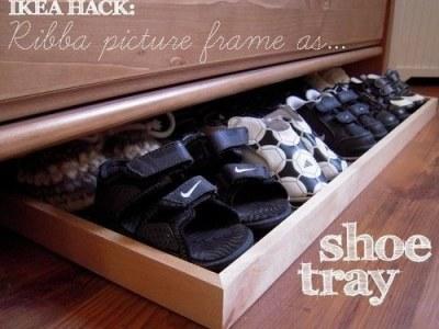 Life Hack: schoenen netjes opbergen met deze Ikea-hack
