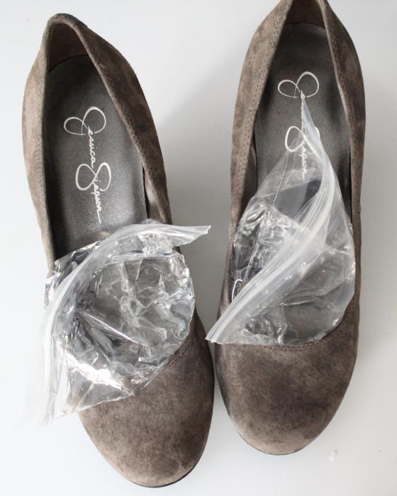 schoenen die knellen