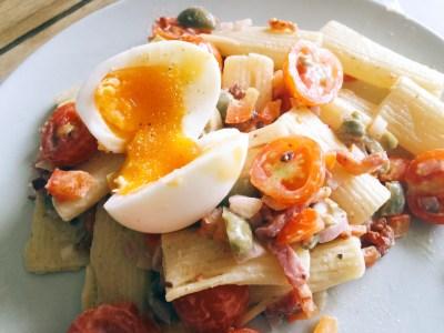Recept: Simpele & Gezonde pastasalade