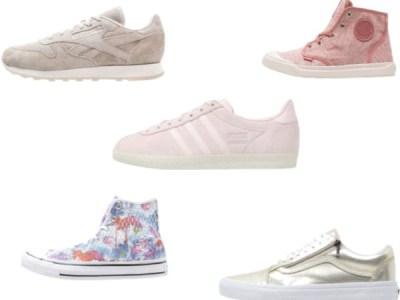 Lente-klaar met deze sneakers!