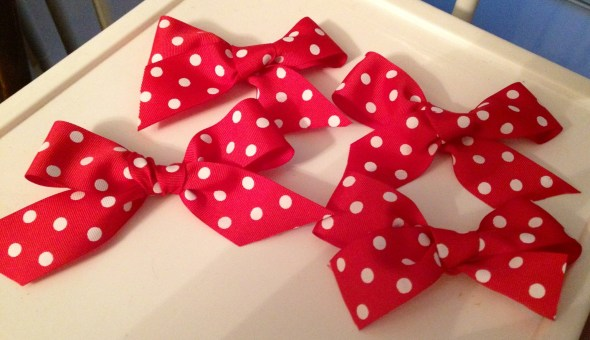 Bows for the girls!