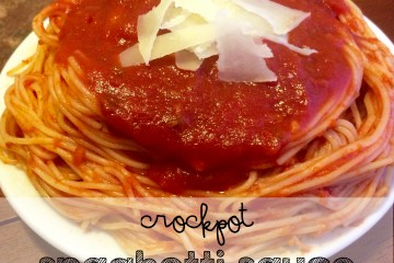 This Spaghetti Sauce will make you famous! Easy Kid-Friendly Crockpot Spaghetti Sauce Recipe
