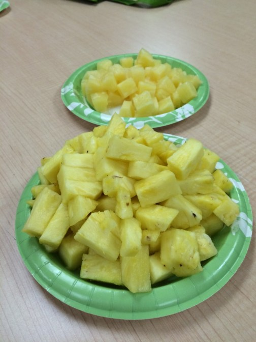 cooking matters pineapple taste test