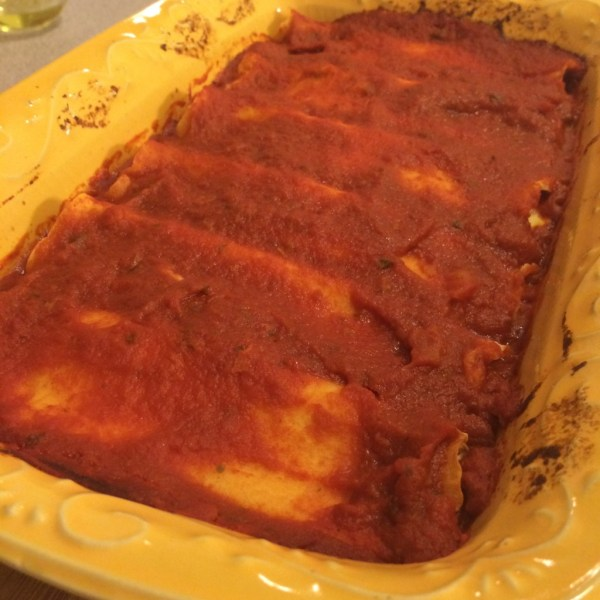 easy homemade manicotti | pomi tomato review