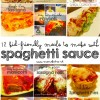 12 kid friendly recipes to make with spaghetti sauce moms bistro dinner ideas