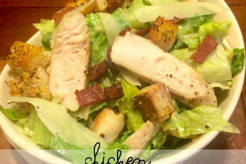 moms bistro chicken caesar salad recipe easy caesar salad homemade bacon homemade crouton recipe kid friendly salad