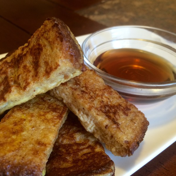 easy homemade french toast sticks make ahead breakfast freezer meal moms bistro