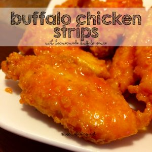 buffalo chicken strips ootball recipe momsbistro