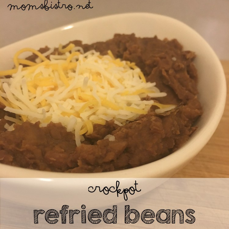 CrockPot Homemade Refried Beans Recipe Easy Kid Friendly