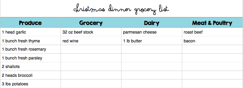 December Menu Plan Grocery List Budget Save Money Christmas Plan Whats For Dinner Kid Friendly Recipe Recipes 2015