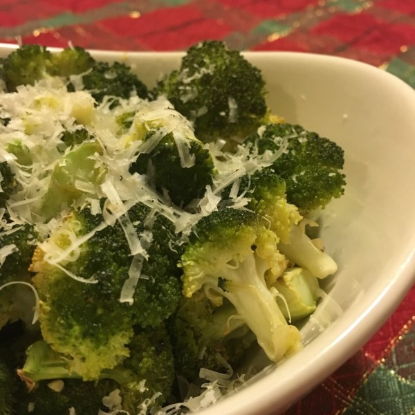 parmesan roasted broccoli recipe