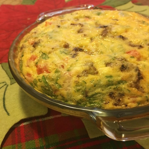 christmas breakfast frittata