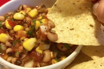 Black Eyed Pea and Corn Salsa