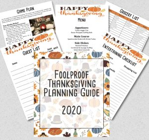 Thanksgiving Planner 2020