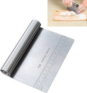bench scraper pastry cutter