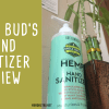 Uncle Buds Hemp Hand Sanitizer Review