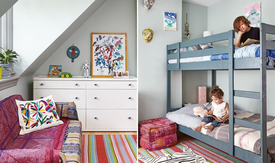 Great tips for creating space in your child's room