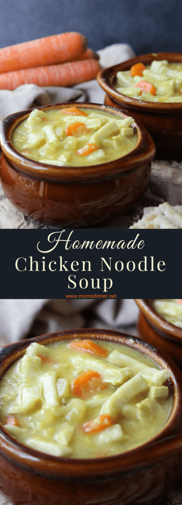 Homemade Chicken Noodle Soup Pinterest