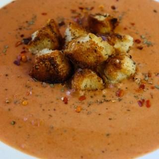 5-Minute Tomato Basil Pantry Soup momsdinner.net