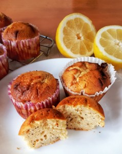 Lemon poppyseeds muffins made with Greek yogurt are keto, low carb, sugar-free and super moist. This is the best lemon poppyseeds recipe!